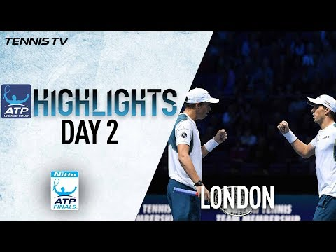 Highlights: Bryans Survive Murray/Soares In Opener Nitto ATP Finals 2017 Round Robin
