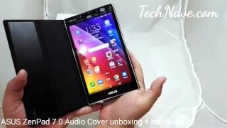 ASUS ZenPad 7.0 Audio Cover unboxing + hands-on