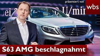 iCrimax: Polizei 👮 beschlagnahmt S63 AMG 🏎 bei Straßenrennen👉 Das gilt rechtlich | RA Solmecke