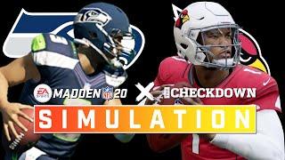 Cardinals vs. Seahawks Week 11 Full Game | Madden 2020 Season Simulation