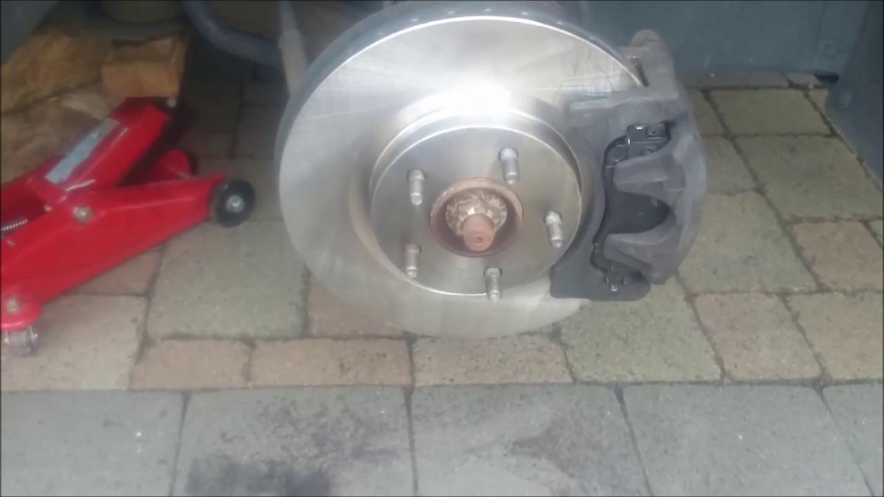 Chrysler Grand Voyager V RT Bremsen Bremsscheiben Beläge hinten