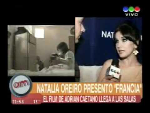 Natalia Oreiro Avant-premiere of the film