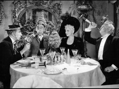 Mae West Celebrates New Year's Eve, Upholds Equality & Plays the Drums