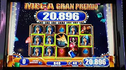 WMS Robin Hood Mega Big Win at Casino Palma de Mallorca 40ct bet max lines