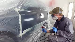 Painting a Car:with Standox