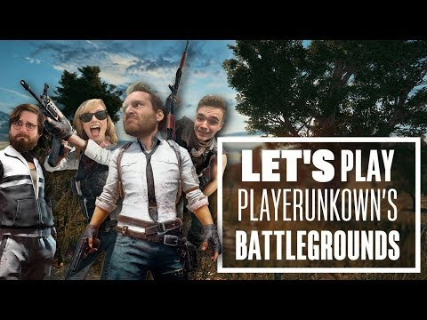Let's Play PUBG gameplay with Chris, Aoife, Johnny and Ian - Let's Four Play!