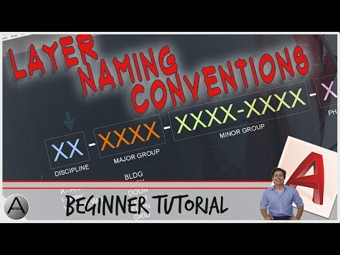 How To Organise Layers In Autocad (Naming Conventions)