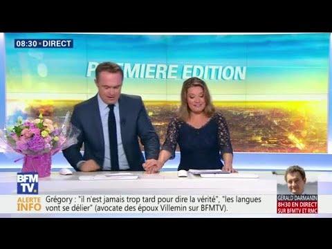 Les adieux émouvants de Pascale de la Tour du Pin à la matinale de BFMTV