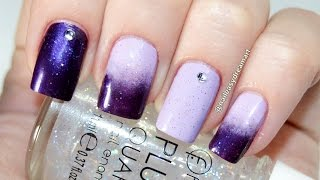 Easy Gradient Ombre Nail Art Tutorial  | DIY How to | Градиентный Маникюр