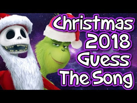 CHRISTMAS 2018 - GUESS THE SONG - HOW MANY CAN YOU GET?