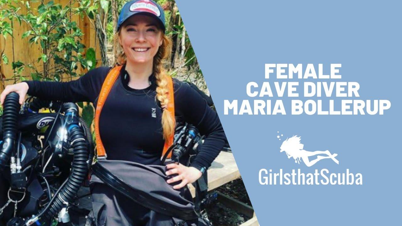 Female Cave Diver | Maria Bollerup
