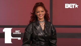 Rihanna Praises Mary J. Blige For Paving The Way For Women In Music! | BET Awards 2019