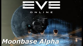EVE Online - Gala first look and moonbase Alpha quick look
