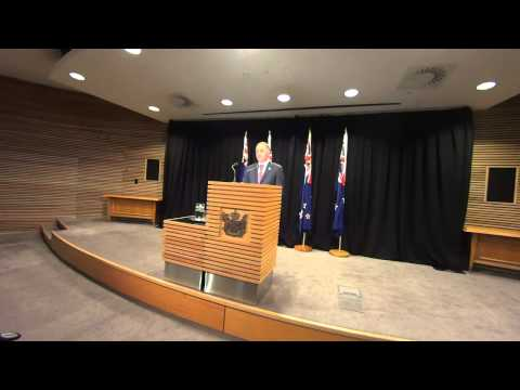 NZ Prime Minister John Key's Post Cabinet Press Conference 23 June 2014