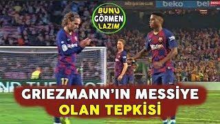 Ansu Fati ve Griezmann'ın Messi'nin Golüne Olan Tepkisi Henüz Görülmedi