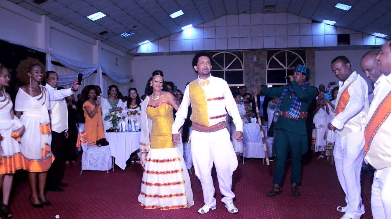 Ethiopian Wedding 2015 Best Mels Entrance