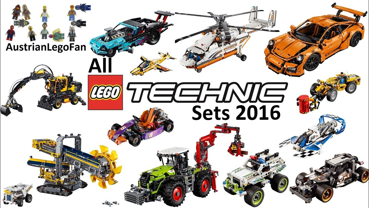 all lego technic sets 2016 lego speed build review youtube. Black Bedroom Furniture Sets. Home Design Ideas