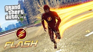 "GTA 5 PC Mods - ULTIMATE ""THE FLASH"" MOD!! GTA 5 The Flash Mod Gameplay! (GTA 5 Mod Gameplay)"