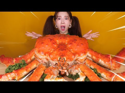 [Mukbang] 초대박! 대왕킹크랩 5KG 먹방🦀Most Delicious KINGCRAB 5KG Eatingsound 帝王蟹 ンクレプ Ssoyoung Eatingsound