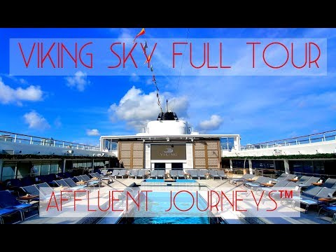 Viking Sky Full Tour
