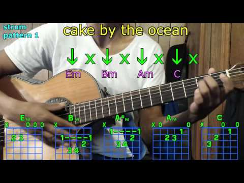 cake by the ocean dnce guitar chords