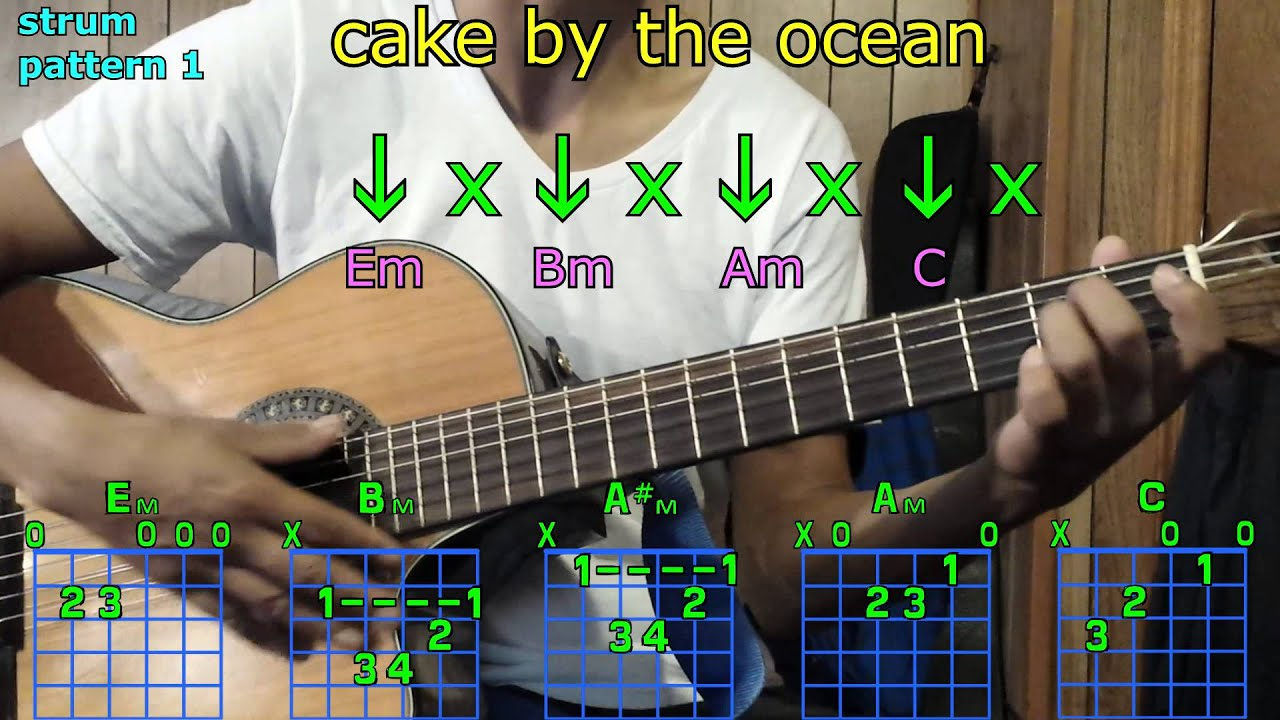 Cake by the ocean dnce guitar chords youtube cake by the ocean dnce guitar chords hexwebz Choice Image