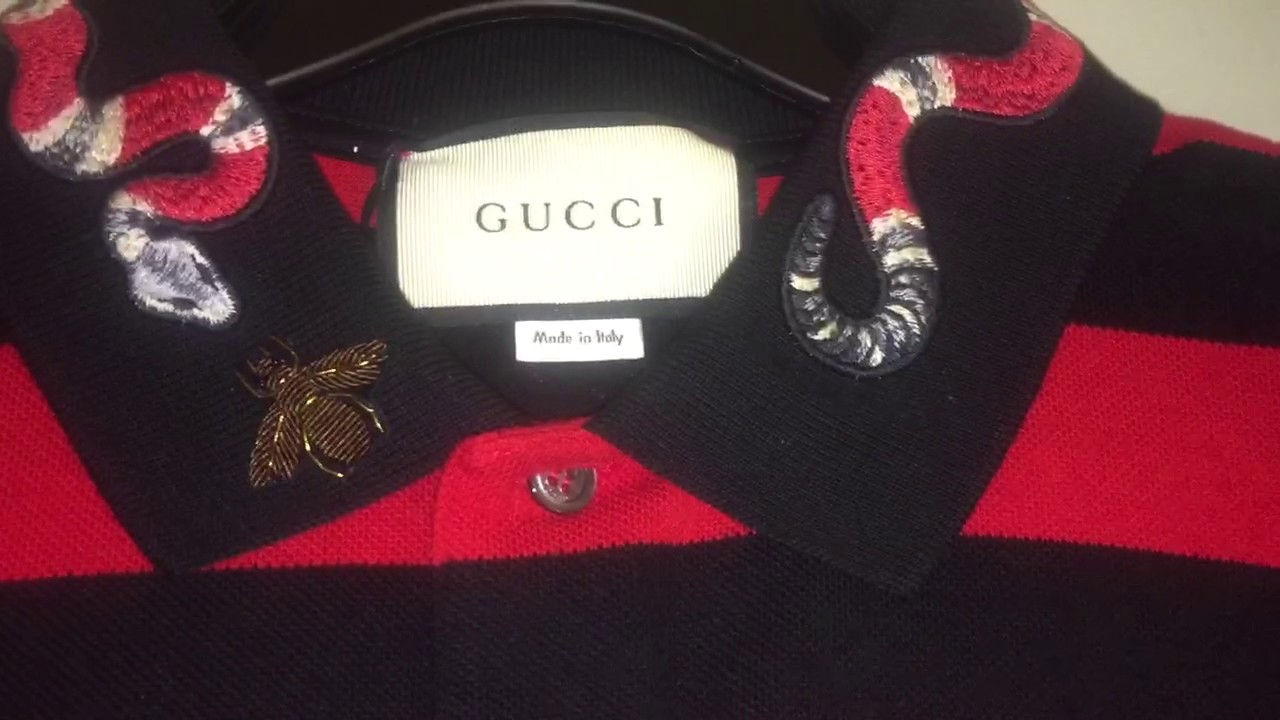 b1158d6b Gucci Polo Collection - YouTube