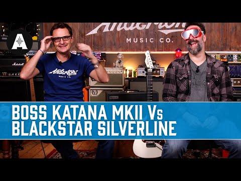 Boss Katana MKII vs Blackstar Silverline - A Blindfold Amp Shootout!