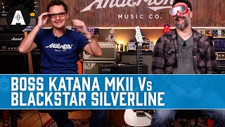 Boss Katana MKII vs Blackstar Silverline - A Blindfold Amp Shootout!