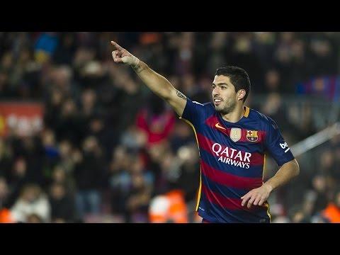 Luis Suarez All Four Goals vs Valencia [ Spanish Commentary ] Copa Del Rey 03.02.2016