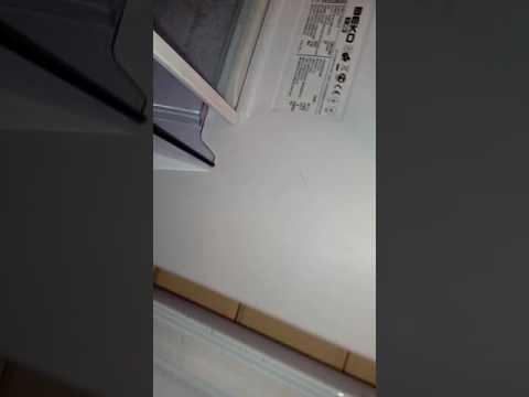 Холодильник Beko вздулась задняя стенка