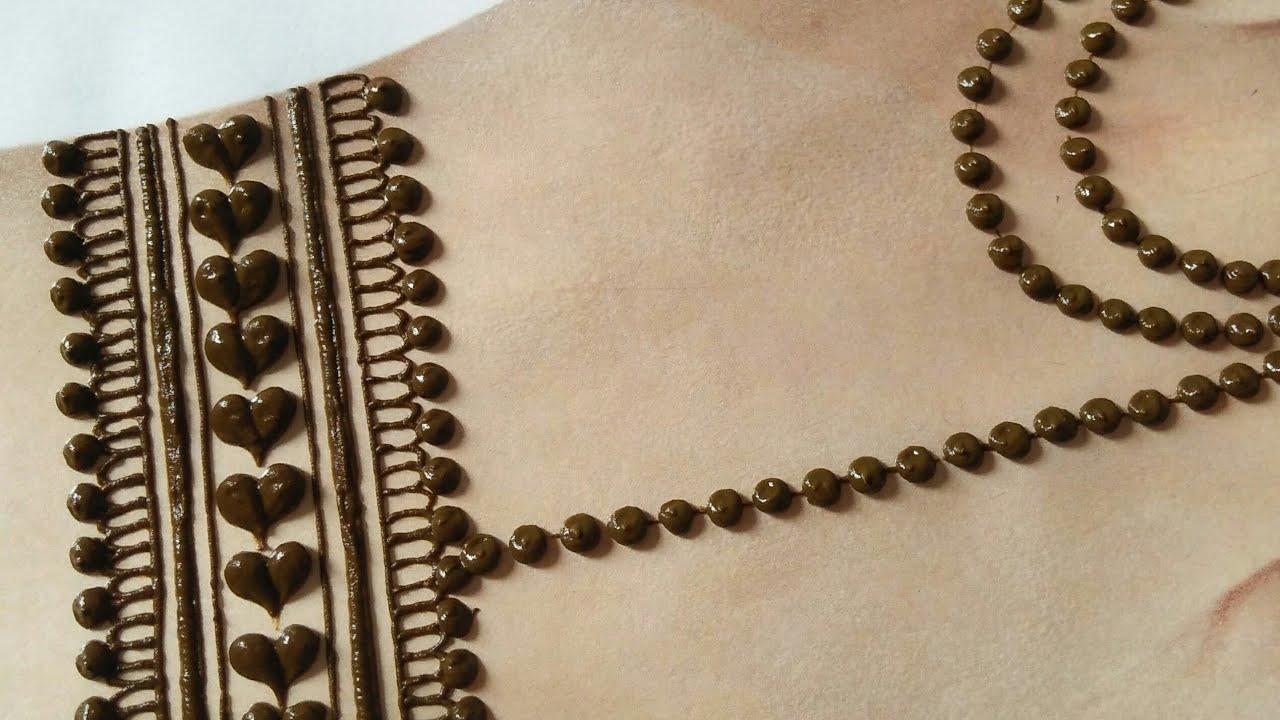 Beautiful Eid Special back hand mehndi design | Rakhi mehndi 2020 | Easy arabic mehndi for hands