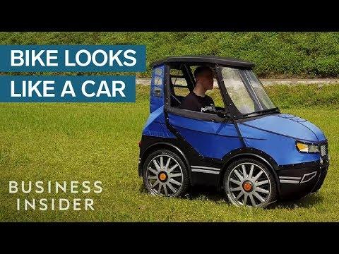 Building A Bike That Looks Like A Car