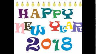 Happy New Year 2018 Animated Gif