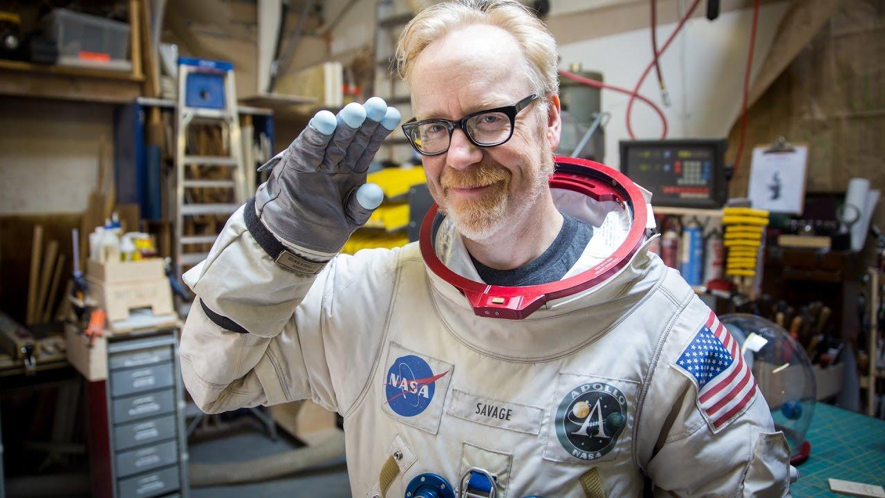 Adam savage s apollo a l spacesuit replica youtube