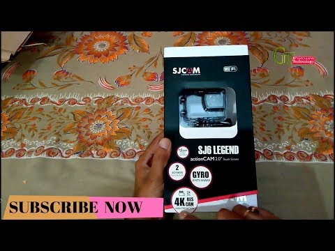 sjcam s6 legend 4k wifi action camera detailed Unboxing review || sjcam sj6 legend || gopro killer