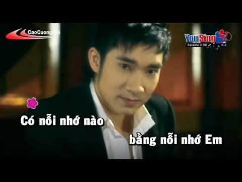 Boi The Anh Yeu Em Karaoke - Quang Ha