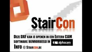 Staircon PRO Light met Export DXF