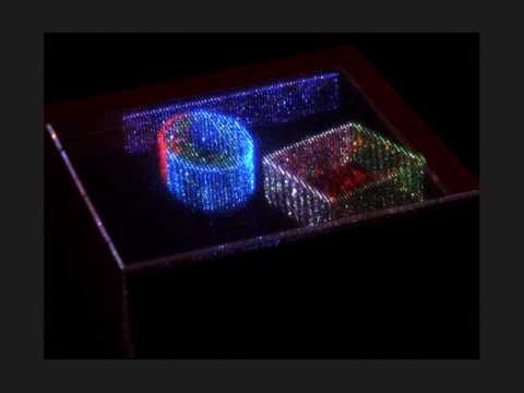 Volumetric Displays: Passive Optical Scatterers