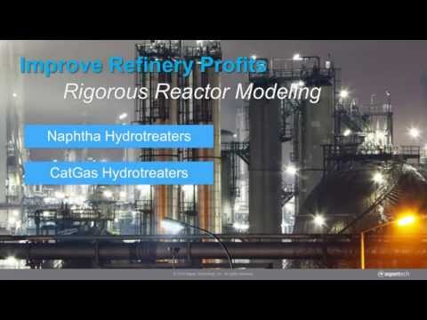 Refinery Reactors in Aspen HYSYS V8.8