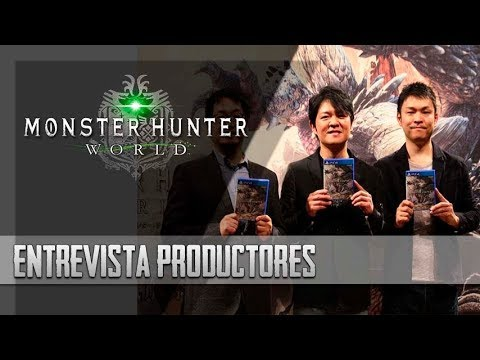[Masa Informa] Monster Hunter World - Entrevista con productores [Español]