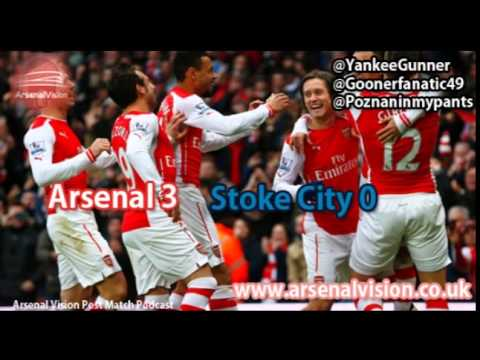 Arsenal Vision Post Match Podcast - EP11: Arsenal 3 Stoke City 0