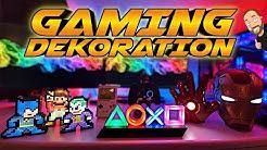 DIE BESTE GAMING DEKO | So verschönert ihr eure Gaming Ecke !!!