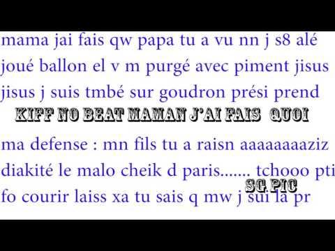 BEAT KIFF MAMAN QUOI JAI TÉLÉCHARGER NO MUSIQUE FAIS