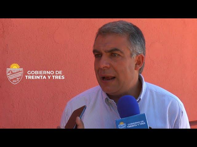 REUNION ENTRE EL INTENDENTE  DR MARIO SILVERA ARAUJO Y LA AGENCIA DE COOPERACION INTERNACIONAL