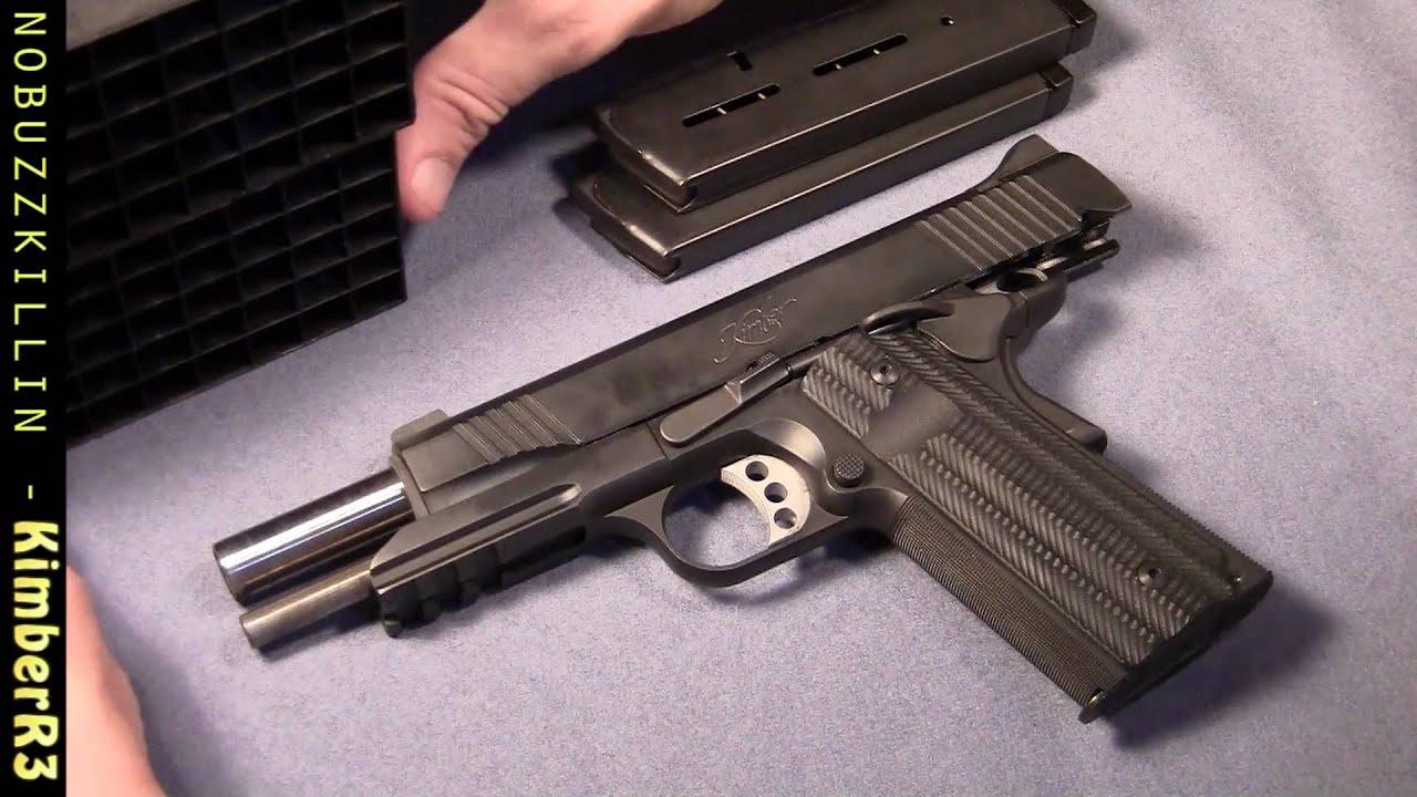 Kimber Report Part 3/5 - Kimber Custom II TLE/RL and VZ Alien Grips