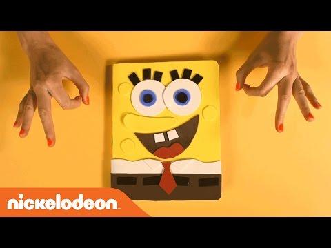 Back to School w/ Spongebob & Teenage Mutant Ninja Turtles | DIY School Supplies