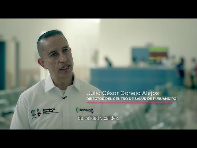 Centro de Salud en Puruándiro - Gobierno de Michoacán