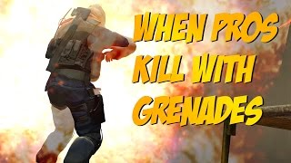 CS:GO - When PROS use Grenades