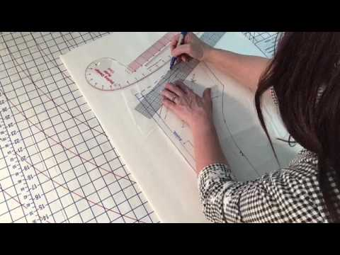 Sew Chic Patterns PT 2 Back Bodice - YouTube
